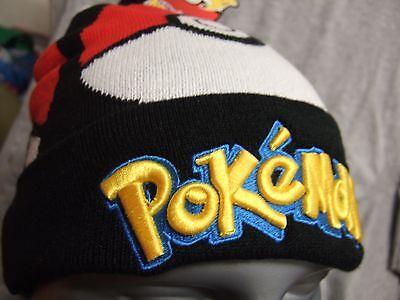 Anime Ski - Snug Pokemon Go Pokeball Anime Nintendo Nes Game Winter Pom Beanie Hat Cap Ski