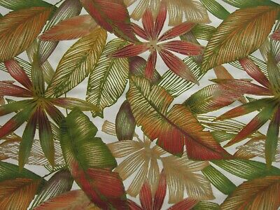 Palm Tree Leaf Tropical Forest Leaves Fabric Outdoor Decorator Canvas 4+ Yards Outdoor Decorator Fabric