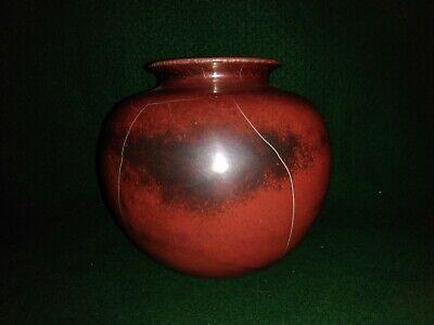 German Repousse Copper Mid Century Mod Home Decor Art Deco Vintage Copper Vase Embossed Brass Vase Small Bud Vase Echt Handarbeit