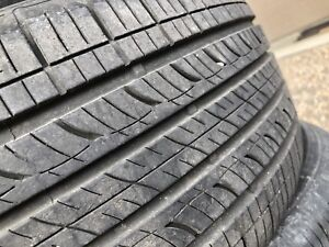 Set of 3 tires 205/55R16 all season