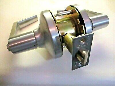 Schlage Commercial Privacy Door Locking Lever Set Satin Chrome 2-34 Backset