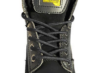 Strong Unisex Shoelaces Boot Laces In 4 Lengths Work Boots Steel Toe Boots Shoes - pimp my shoes - ebay.co.uk