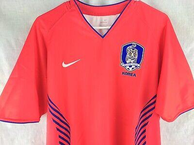 da50155e40a NIKE Sphere Dry KOREAN FOOTBALL ASSOCIATION Men's Soccer Jersey Shirt Sz L  Large