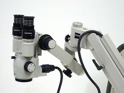 Carl Zeiss Ompi 1 Ent Wall Mount Microscope F170 Head Prescotts Mark Ii Light