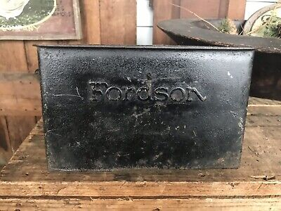 Fordson Coil Ignition Holder Antique Tractor Part Metal Stamp F-2059
