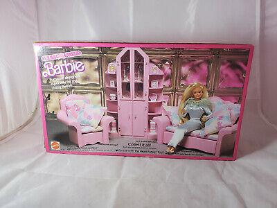 Mattel Barbie Sweet Roses 3-Piece Wall Unit Furniture Sealed Box NEW 4772