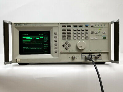 Hewlett Packard 5371a Opt 060 Frequency And Time Interval Analyzer