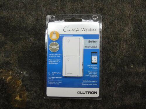 *NEW* Lutron Caseta Wireless Smart Lighting Switch, White (PD-5ANS-WH-R)