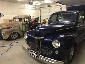 Hot rodded 1941 ford super deluxe 2dr (trades considered)