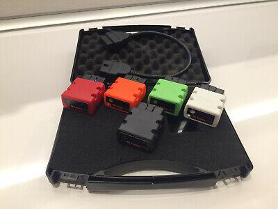 TOP Qualität LED Tagfahrlicht 8 SMD Rund Ø70-90mm E4-Prüfzeichen DRL 6000K 38