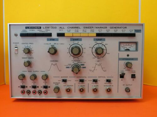 LEADER LSW-333 ALL CHANNEL SWEEP MARKER GENERATOR