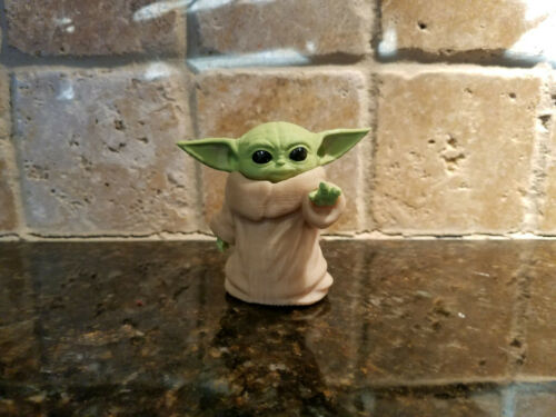 Baby Yoda 3D Printed Figure Fan Art