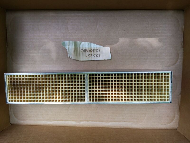 """Condar 16 Cell 2.5"""" x 13"""" x 2"""" Canned Catalytic Combustor, CC-257"""
