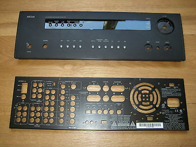 Arcam AVR200 5.1 Channel 90 Watt Receiver Front and Rear Panels