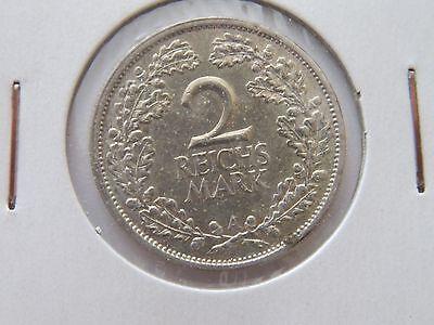 Weimar - 2 Reichsmark - 1926 A - J.320 - SS bis VZ