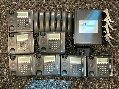 Esi Esi-50 Phone System Server With 7 Handsets