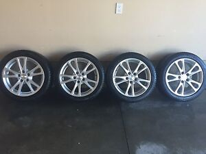 X-Ice tires and rims 225/45/R17 w/TPMS sensors