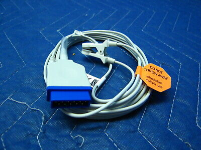 Ge Nellcor Oximax Spo2 Pulse Oximeter Ear Lingual Sensor New Dash Veterinary