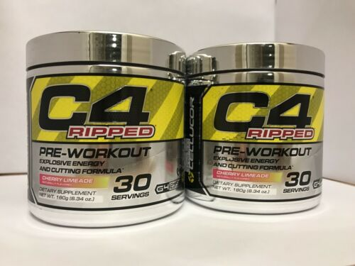 Cellucor C4 Ripped Pre-Workout 60 Servings Cherry Limeade FR