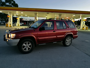 Nissan Pathfinder, RWC Rego 1999 4x4 Backpacker ready 4wd Southbank Melbourne City Preview