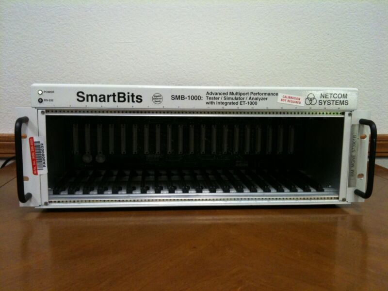SmartBits SMB-1000 Advanced Multiport Performance Test/Simulator/Analyzer