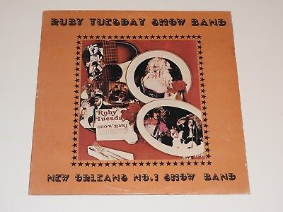 Ruby Tuesday Show Band New Orleans No  1 Show Band Lp Record Rare