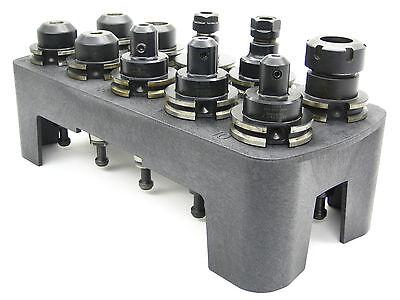Toolholder Carrier Storage Rack 40 Taper Bt40 Cat40 Nmbt40 Cnc Edm Machines