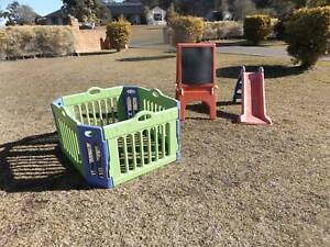 Toddlers Play Pen, Slide and Chalk Board Set Outdoor Old Bar Greater Taree Area Preview