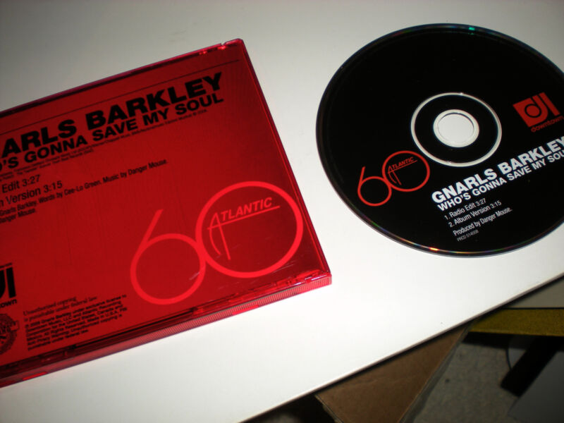 Gnarls Barkley Who's Gonna Save My Soul CD SINGLE radio edit album versioin