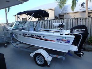 Quintrex 430 Fishabout 2016 as new Coomera Gold Coast North Preview