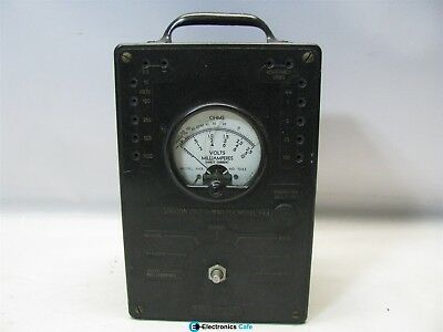 Simpson Electric Co. Volt-ohmmeter Model 443 Untested