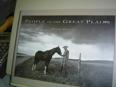 People Of The Great Plains Signed Peter Miller 1996 Hbdj Texas Oklahoma Dakota