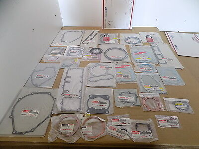 NEW YAMAHA OEM WHOLESALE LOT MOTORCYCLE ATV ASSORTED GASKETS / 30 PIECES / #9