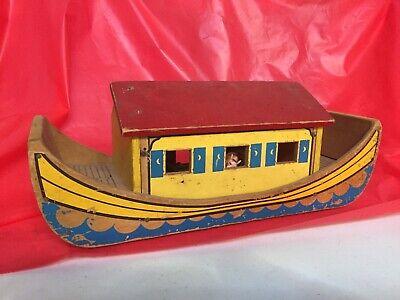 Vintage Holgate Noahs Ark Pull Toy