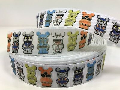By The Yard 1 Inch Disney Star Wars Vinylmation  Grosgrain Ribbon Lisa](Star Wars Ribbon)