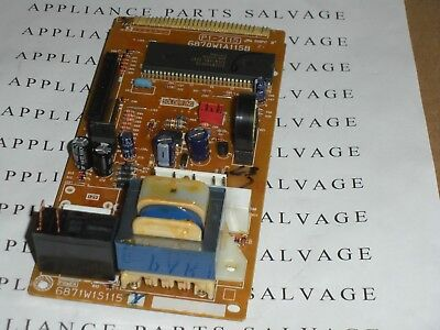 6871W1S115X 6870W1A115B  MICROWAVE OVEN ELECTRONIC CONTROL CLEAN USED TESTED