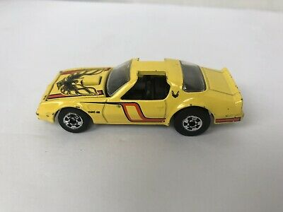 Pontiac Firebird - 1977 (Hot Bird) Hot Wheels RARE YELLOW with hood!