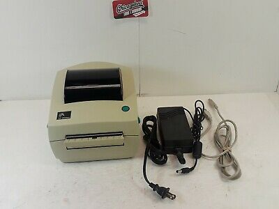 Zebra Lp 2844 Thermal Label Barcode Printer No Box