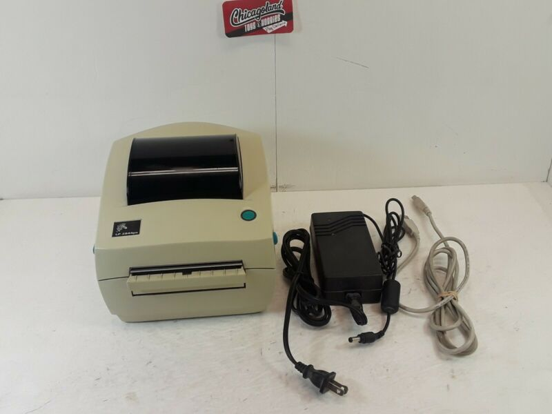 Zebra LP 2844 Thermal Label Barcode Printer (No Box)