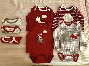 7 in one set unisex baby T's Age up to 6-12mtns
