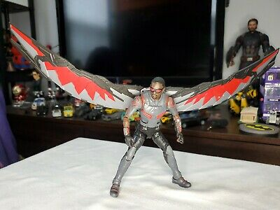 MARVEL LEGENDS Falcon Walmart Exclusive MCU Civil War FALCON w/wings