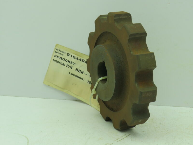 """Rexnord 882-11T Tabletop Conveyor Chain Cast Iron Sprocket 11T 1"""" Finished Bore"""