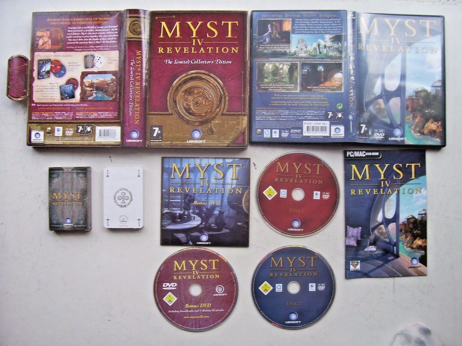 Myst 4 Revelation (PC Game Windows 2004) - Limited Big Box Edition