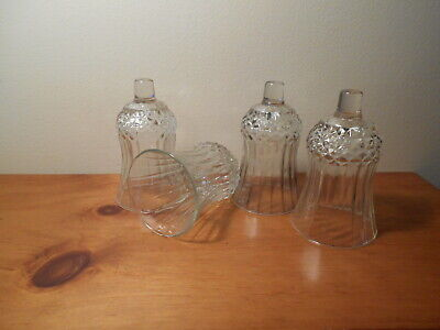 Lot of 4 Short Diamond Votive Cups Lot of 4 Homco Home Interiors