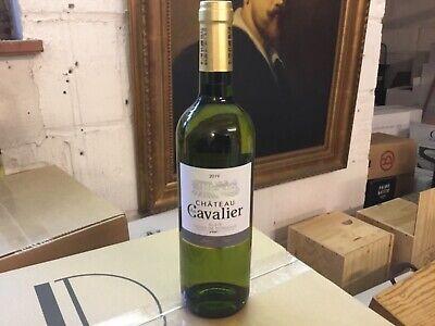 6 bouteilles Chateau du Cavalier Bordeaux Blanc en Blaye Millésime 2019