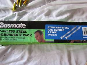 GASMATE BBQ RAIL BURNERS x 2 BRAND NEW IN BOX BBQ BURNERS NEW Northbridge Willoughby Area Preview