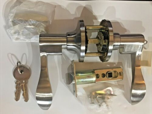 Berlin Modisch Single Cylinder Handle Set with Lever Door Handle Modern Styles