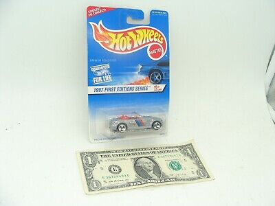 Hot Wheels Silver BMW M Roadster - First Editions - 1997