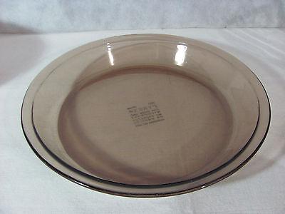 Natural Pie Pan - Pyrex Fireside Naturals Brown Glass 9