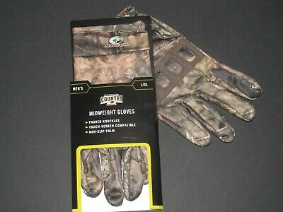 Realtree hardwoods Solid Neoprene Fleece Lined Glove Size L